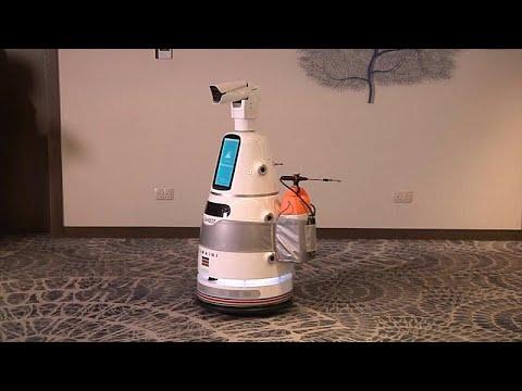 Κένυα: Ρομπότ κατά του κορονοϊού
