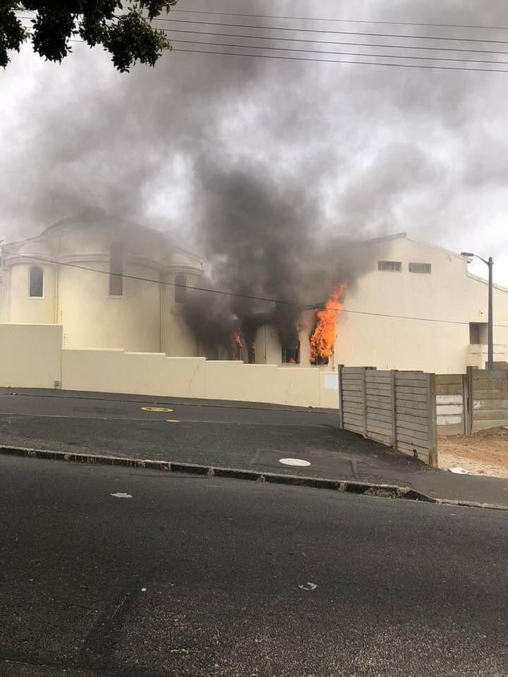 Hellenic Community Of Cape Town – Statement regarding the fire at the Greek Orthodox Cathedral of St George
