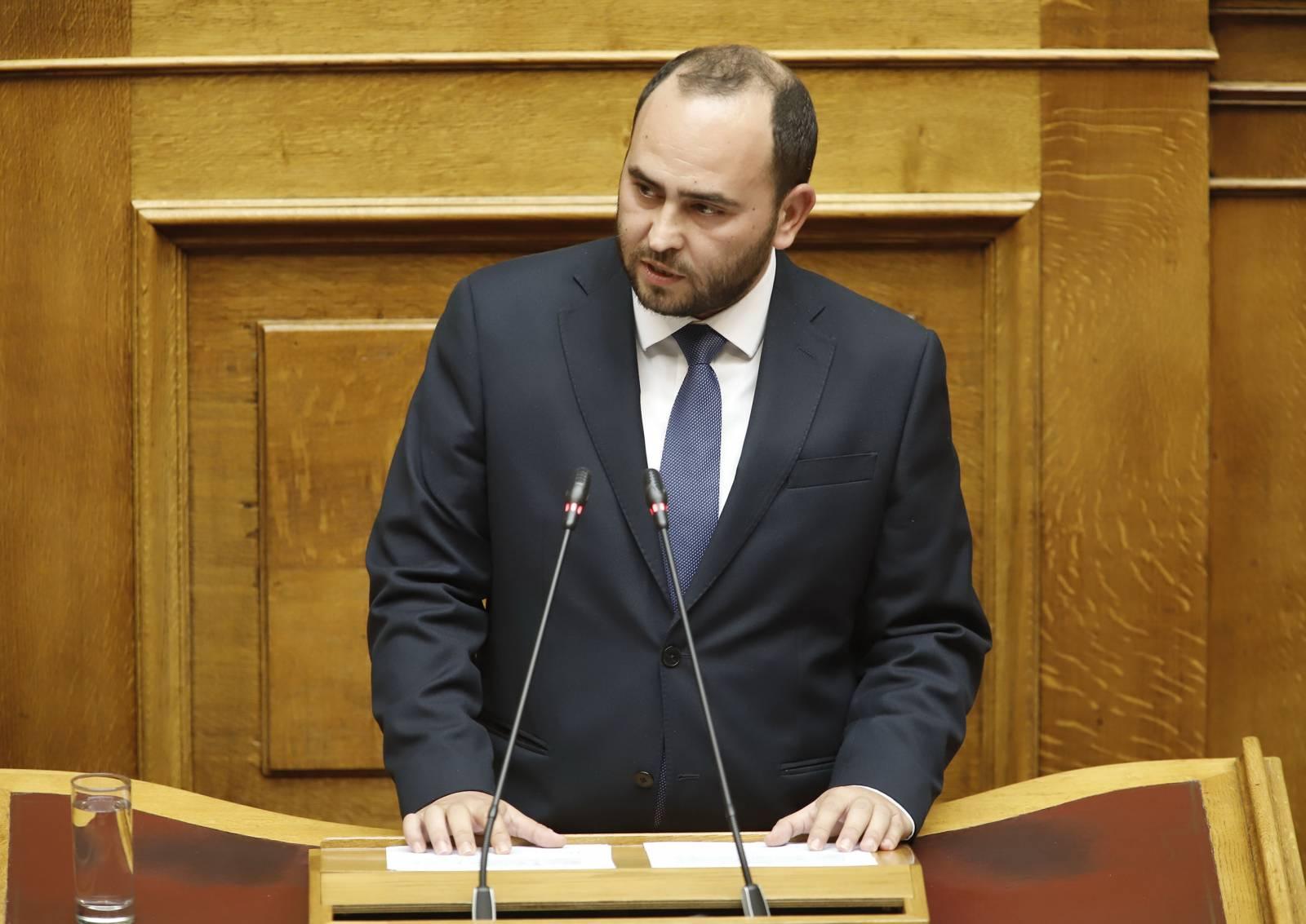 Ομιλία Λάκη Βασιλειάδη στην Ολομέλεια της Βουλής για το ν/σ του Υπουργείου Εξωτερικών σχετικά με το Συμβούλιο Απόδημου Ελληνισμού