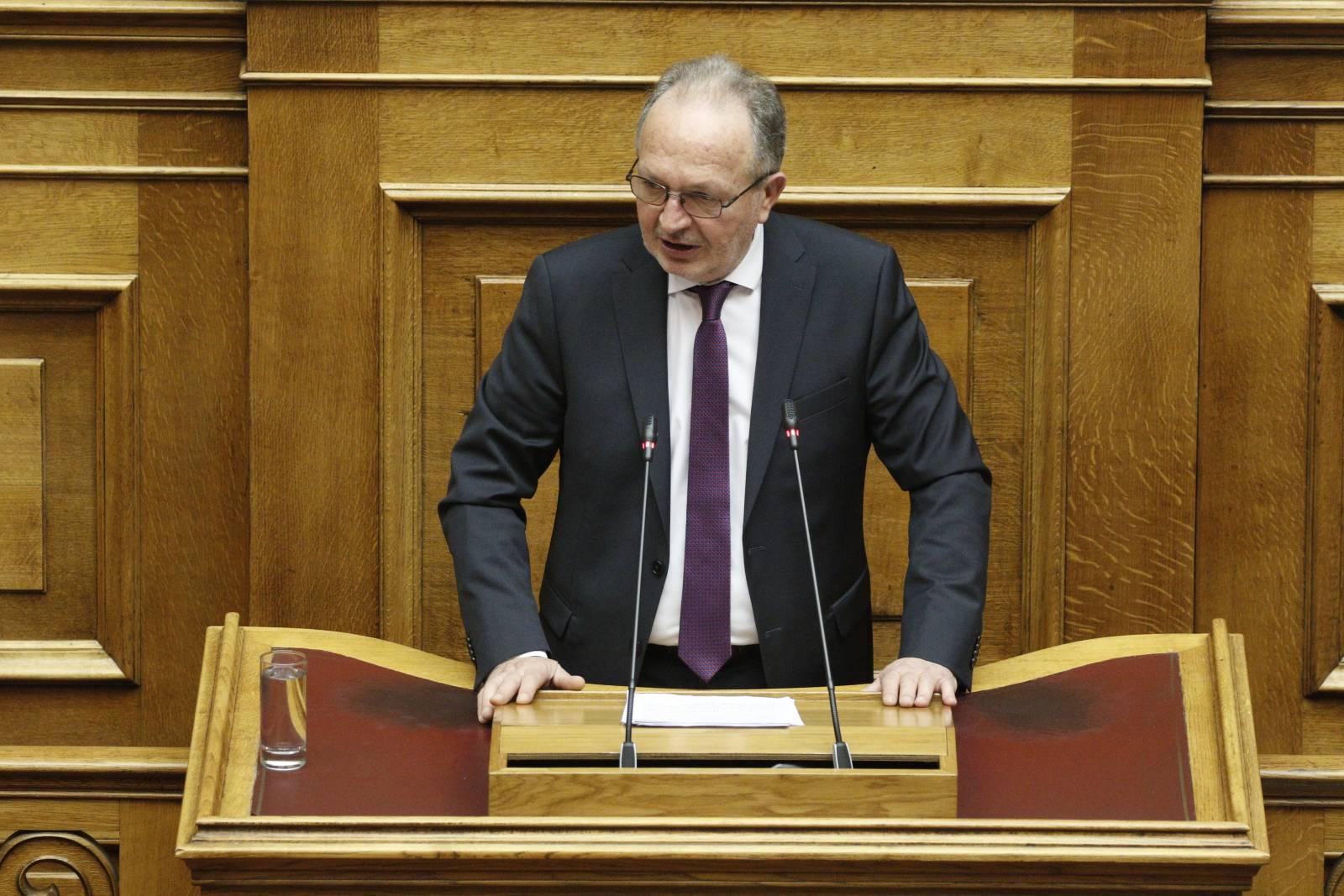 Ομιλία του Βουλευτή κ. Αθ. Λιούπη στην Ολομέλεια της Βουλής για το ν/σ του Υπουργείου Εξωτερικών σχετικά με το Συμβούλιο Απόδημου Ελληνισμού