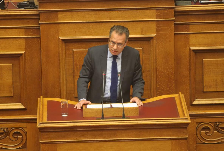 Ομιλία του Βουλευτή κ. Γ. Κουμουτσάκου στην Ολομέλεια της Βουλής για το ν/σ του Υπουργείου Εξωτερικών σχετικά με το Συμβούλιο Απόδημου Ελληνισμού