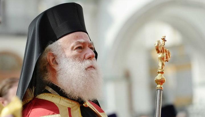 Στην Παναγίτσα Ηλιουπόλεως για τους Γ' Χαιρετισμούς ο Πατριάρχης Αλεξανδρείας