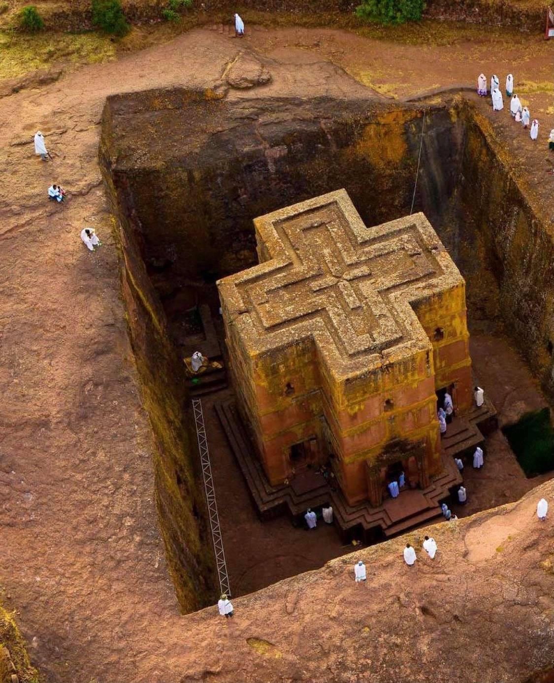 Ο μονολιθικός ναός του Αγ. Γεωργίου στην Αιθιοπία