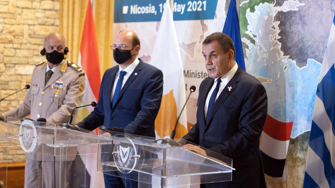 Τριμερής Συνάντηση: «Ελλάδα, Κύπρος & Αίγυπτος προάγουν ασφάλεια, ανάπτυξη, ειρήνη & σταθερότητα στην περιοχή»