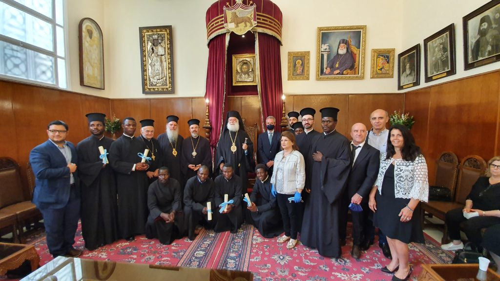 Τελετή αποφοίτησης στη Πατριαρχική Σχολή «Αθανάσιος ο Μέγας»