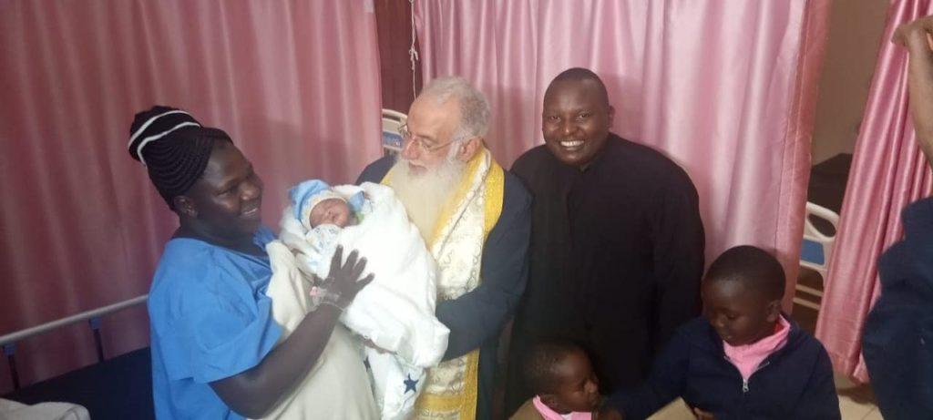 Ονοματοδοσία από τον Γέροντα Ναϊρόμπι Μακάριο
