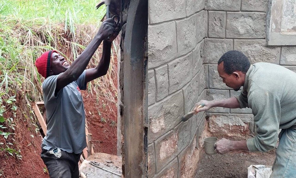 Χτίζουν με τα χέρια τους έναν Άγιο Φίλιππο στην Κένυα