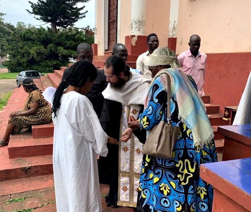 Η χαρά της Ορθοδοξίας στην πρωτεύουσα του Καμερούν